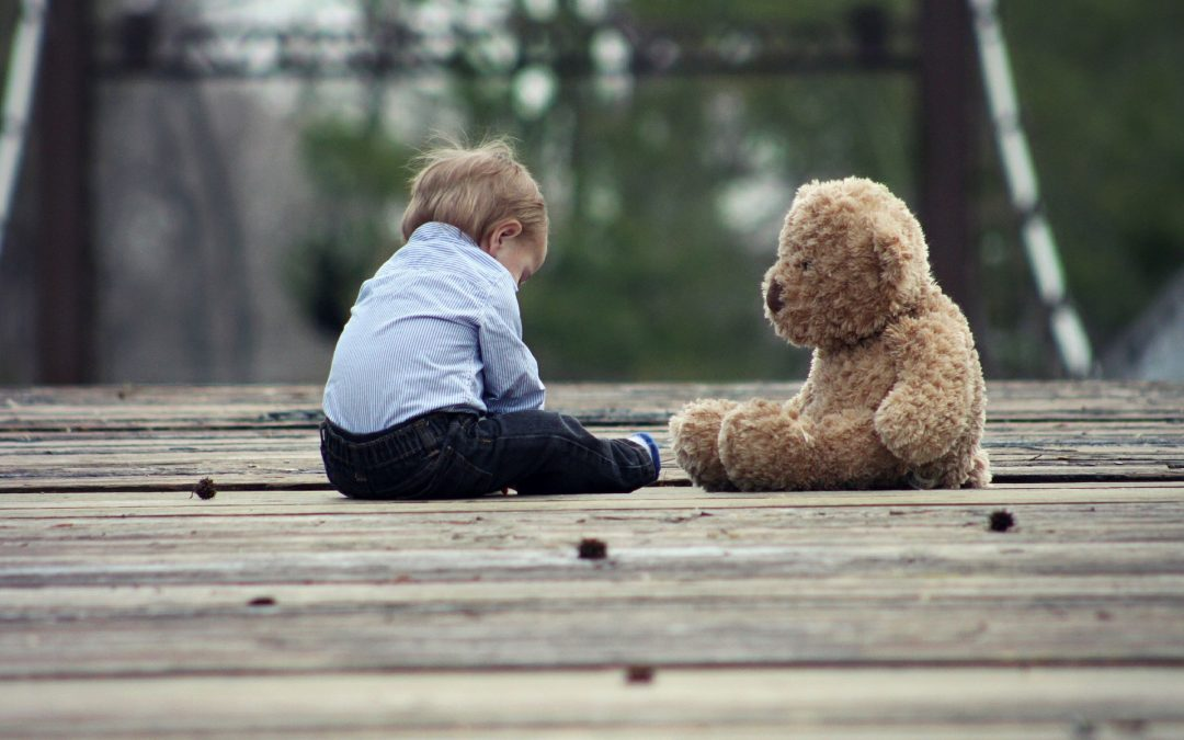 ¿Por qué algunos niños se aferran a un objeto de consuelo?