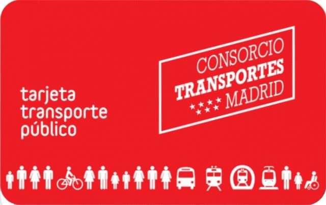 tarjeta transporte consorcio regional de transportes de Madrid