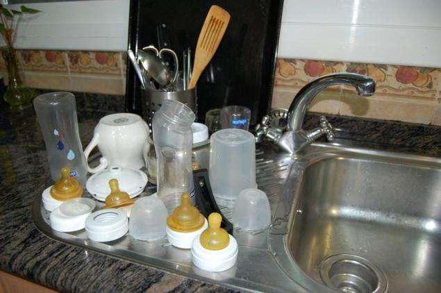 biberones y tetinas limpiar el biberon