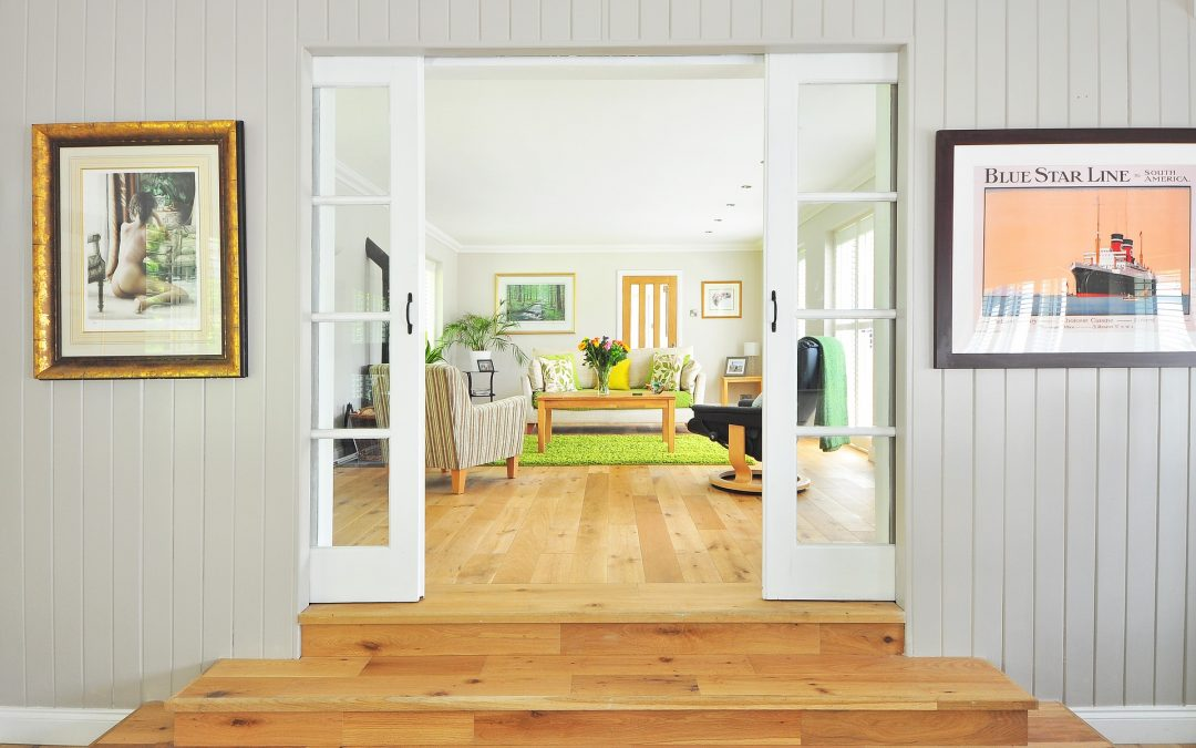 imagen de una casa por dentro para ilustar la página de decoración