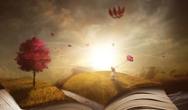 libro abierto lectura libros