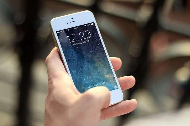 móvil pantalla