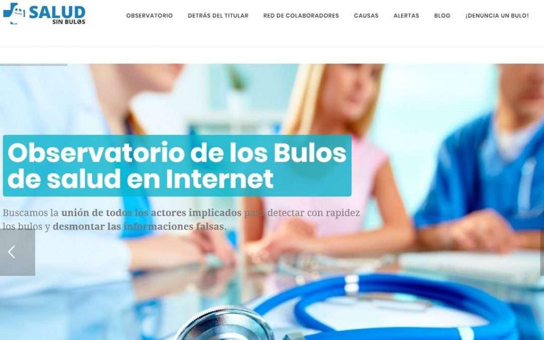 web salud sin bulos