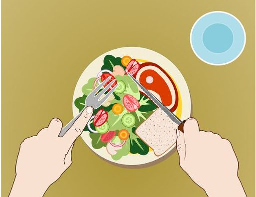 ensalada comida sana verdura