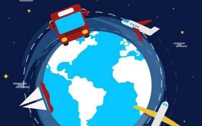 Avión, tren, coche, barco… qué tener en cuenta al viajar en el embarazo