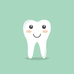 dibujo de un diente para hablar de prevenir la gingivitis en el embarazo