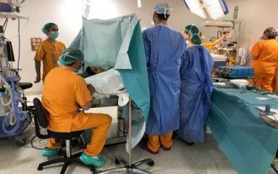 El Hospital HLA Jerez Puerta del Sur permite que el padre esté presente en la cesárea