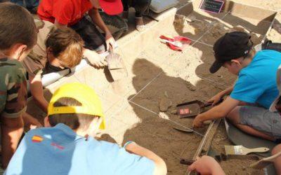 Talleres gratuitos de arqueología para niños en Madrid