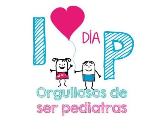 cartel del día de la pediatría