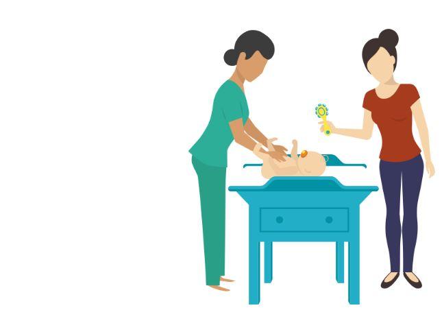 fisioterapia respiratoria bronquiolitis masajes bebe enfermera bebe revision medica bebe