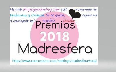 Ya están aquí los premios Madresfera 2018