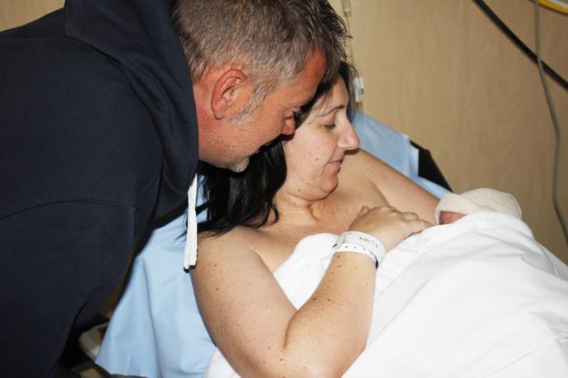 padre en parto hospital del Vinalopó