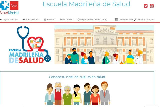 escuela salud Madrid