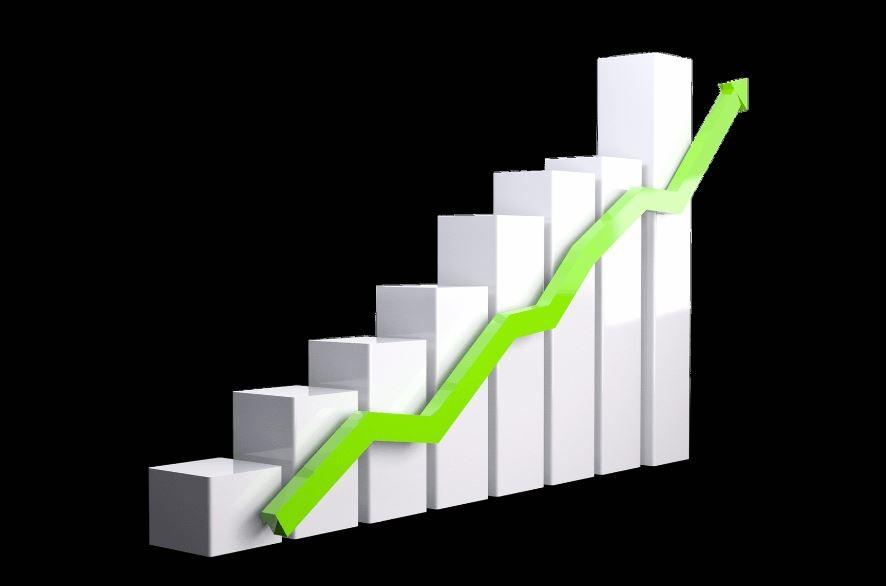 gráfico estadístico con subida para hablar de por qué anunciarse en mujer y madre hoy