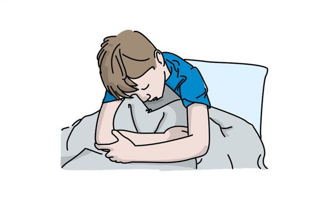 niño enfermo triste justificarfaltasalcole