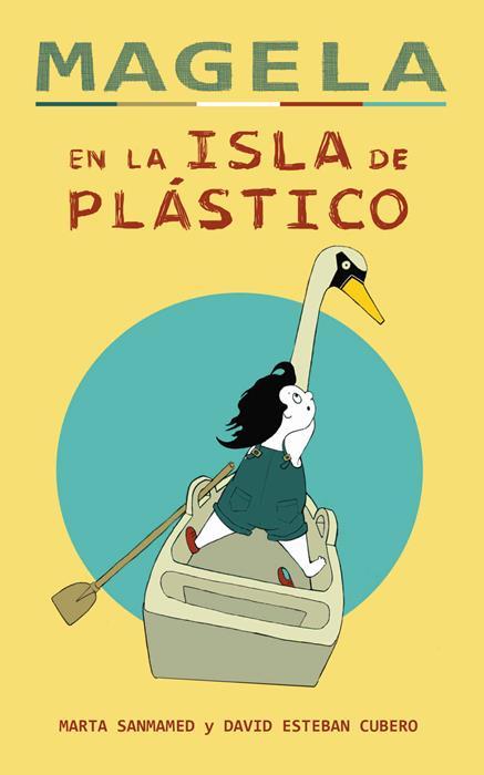 magela en la isla de plastico