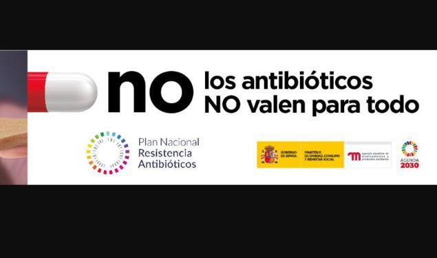 campaña antibióticos medicamentos