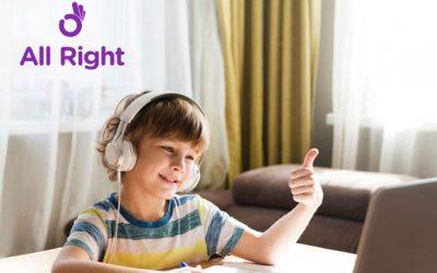 All Right: aprender inglés online puede ser muy divertido