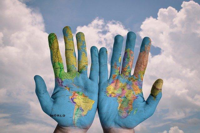 manos mundo planeta ecologia