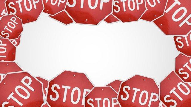stop prohibido estado de alarma covid
