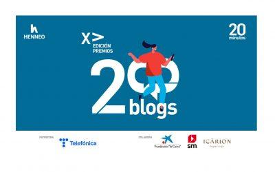 Mujer y Madre hoy, finalista en los Premios 20Blogs